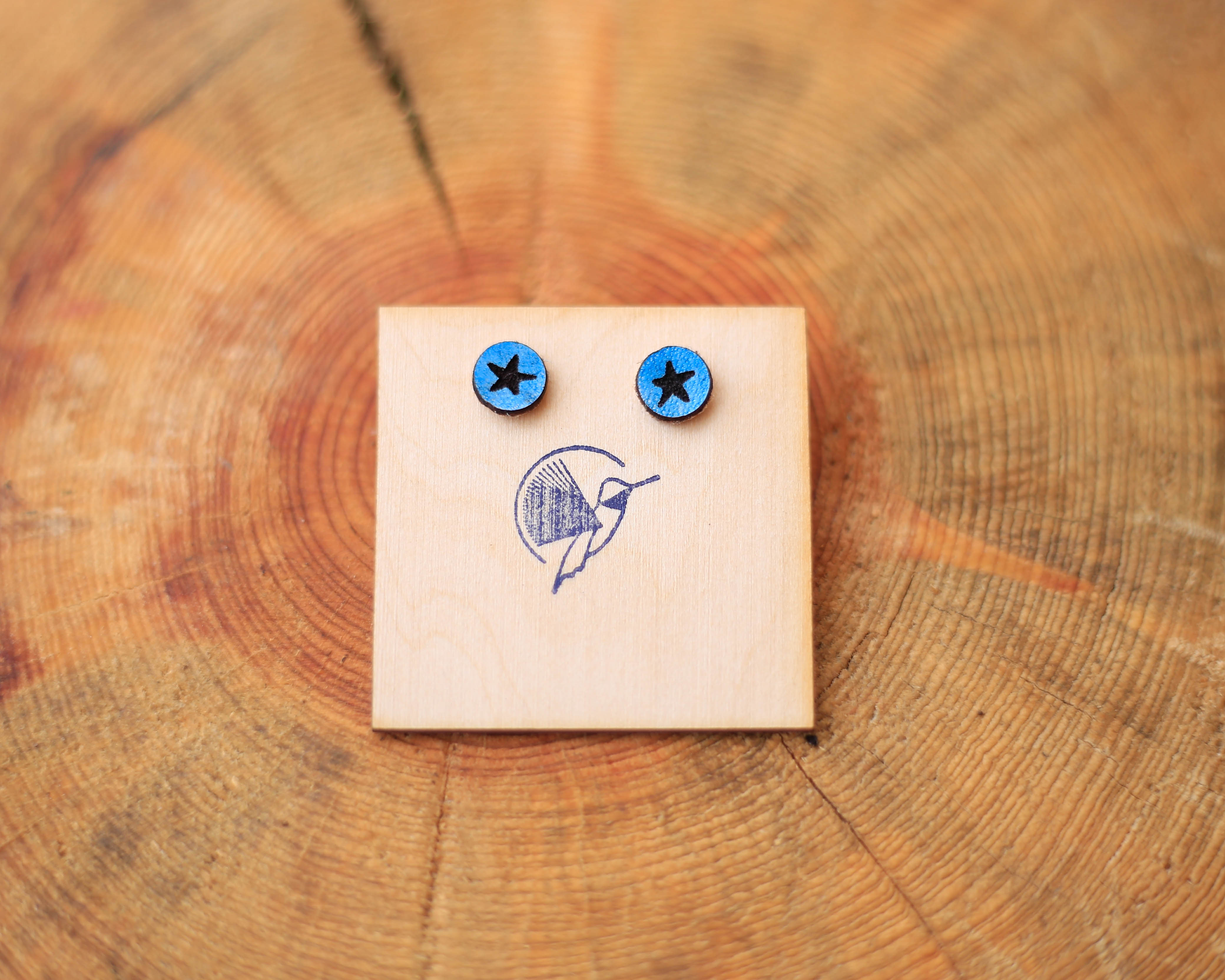 The Blue Star Collection earrings